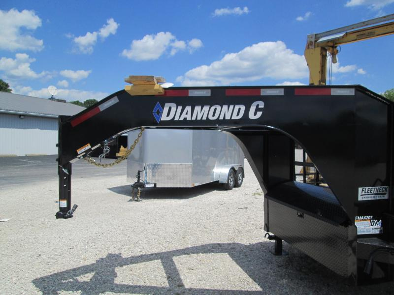 "2020 FMAX 207HDT 20'+12'x102"" 15.5K Diamond C Engineered Beam Gooseneck Equipment Trailer. 30358"