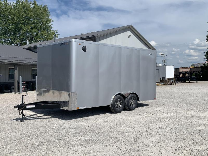 2021 LEGEND 8.5X16 STF Cyclone Enclosed Trailer 317684