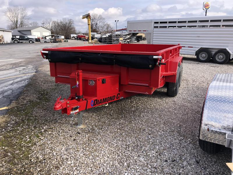 2021 12x77 10K EDM Diamond C Dump Trailer. 41069