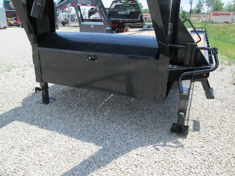 2020 FMAX 207HDT 18'+12' 15.5K Diamond C Engineered Beam Equipment Trailer. 29922
