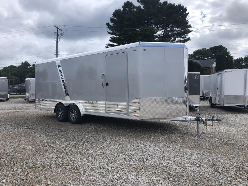 2021 LEGEND 8x20'+3' V-Nose 10K  DVN Enclosed Cargo Trailer. 17560