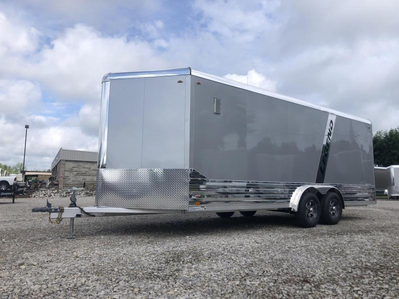 2021 LEGEND 8x20'+3' V-Nose 10K  DVN Enclosed Cargo Trailer. 17560