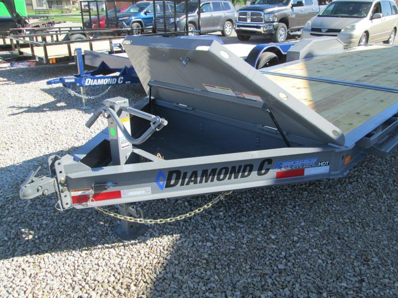 """2021 16'+6'X82"""" 14.9k Diamond C HDT 207 Equipment Trailer. 46450"""