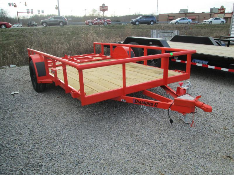 2021 12x77 Diamond C PSA135 Utility Trailer. 35624