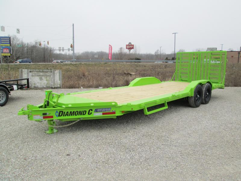 2021 DIAMOND C Trailers LPX207 Equipment Trailer. 38816