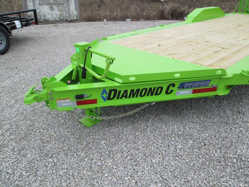 2021 DIAMOND C Trailers LPX207 Equipment Trailer. 38816
