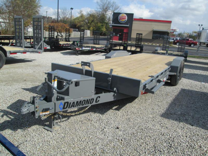 "2021 22'x82"" 14K Diamond C EQT207 Tilt Equipment Trailer. 35432"