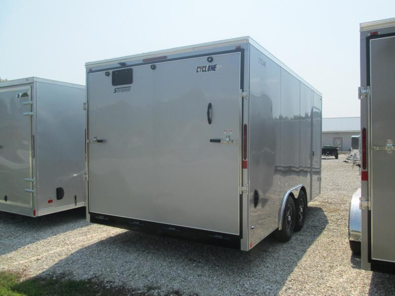 2021 8.5x16 7k Legend STF Cyclone Enclosed Cargo Trailer. 17683