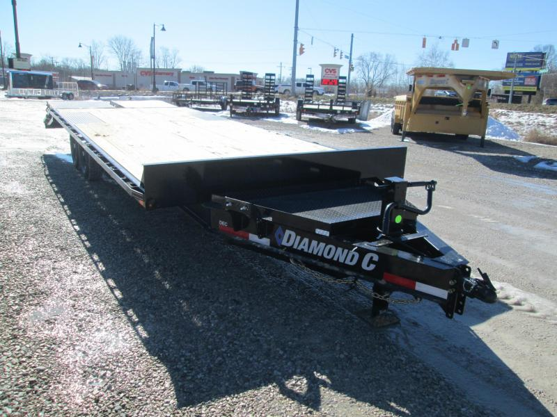 2021 24x102 14.9K Diamond C DEC207 Equipment Trailer. 42571
