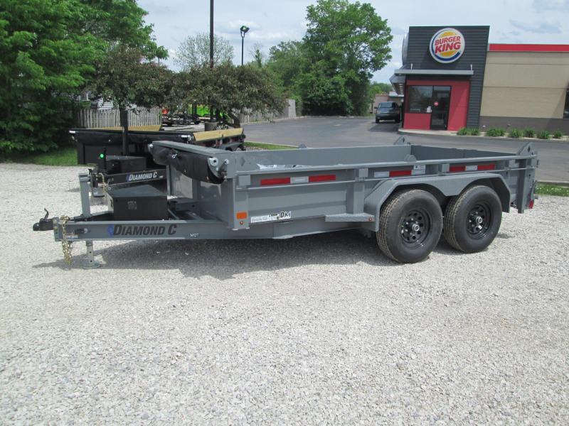 202112x77 10K Diamond C MDT206 Dump Trailer. 47737