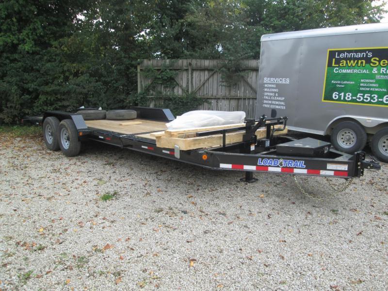 2022 16+6 14K Load Trail Split Deck Tilt Equipment Trailer. 46423