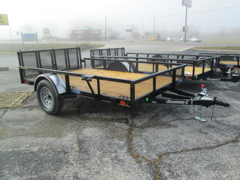 2021 10x77 Diamond C PSA135 Utility Trailer. 25740