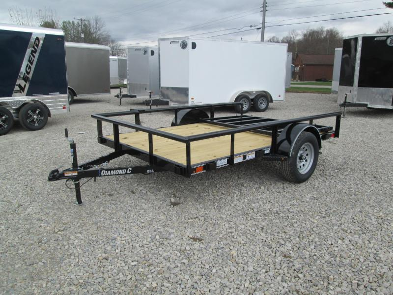 2021 10x77 Diamond C GSA135 Utility Trailer. 37530