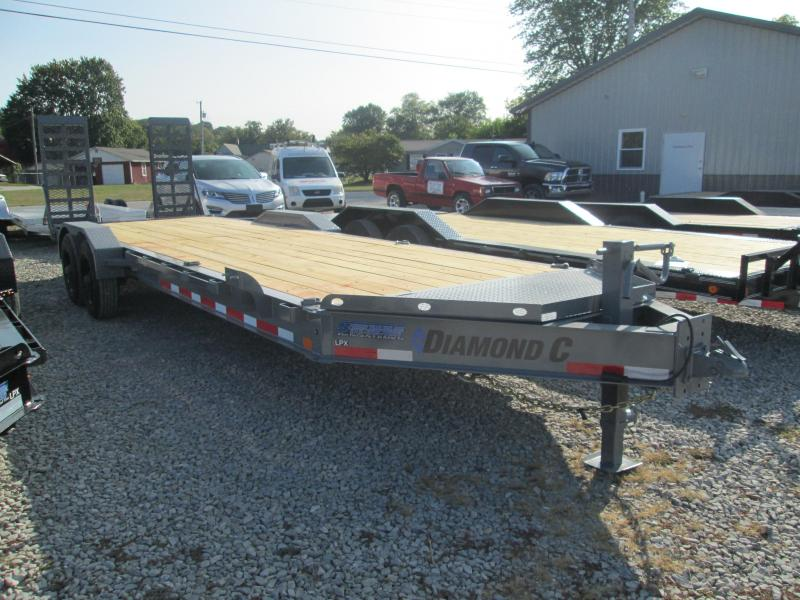 "2021 22'+2'x82"" 20K Diamond C LPX210 Equipment Trailer. 34369"