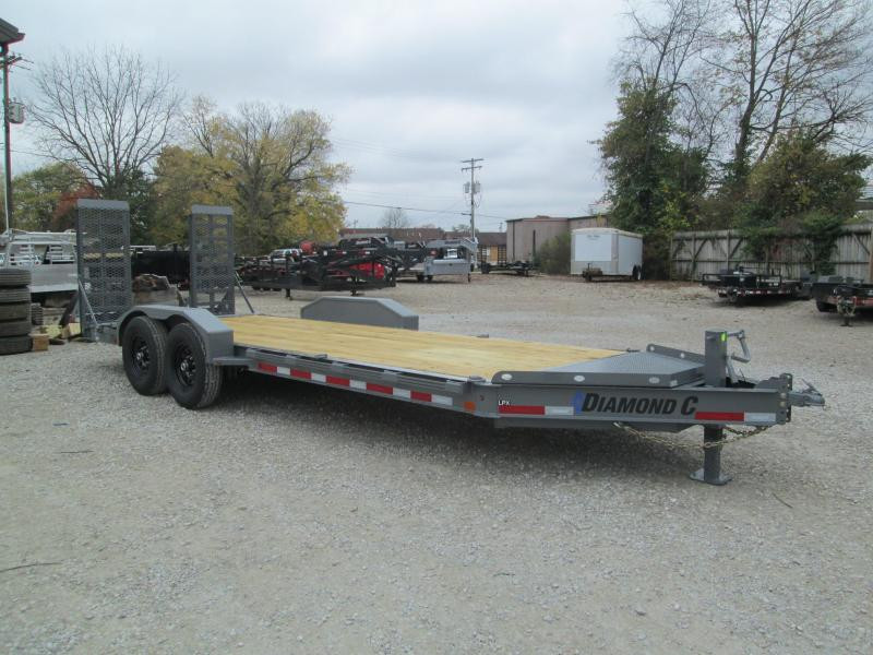 2021 20x82 14.9K Diamond C LPX207 Equipment Trailer. 36297