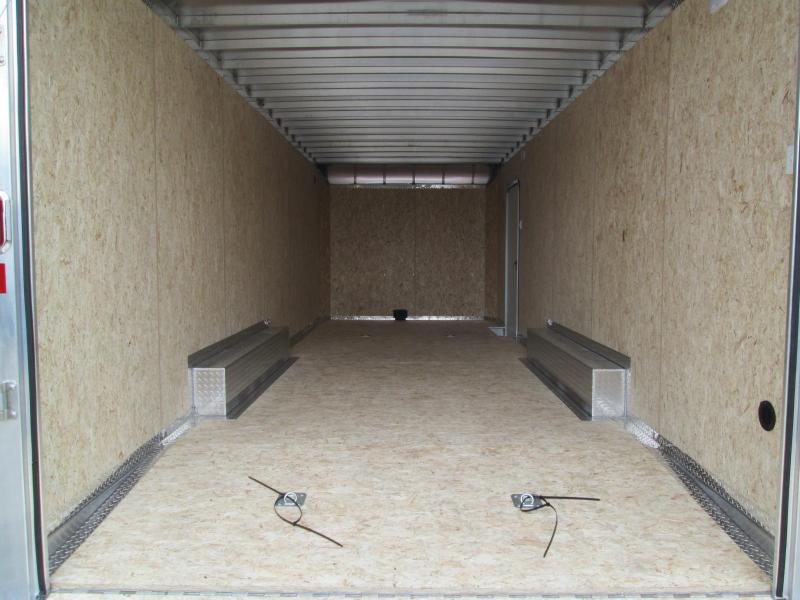 2021 8.5x24 10K Legend TMR Enclosed Cargo Trailer. 17896