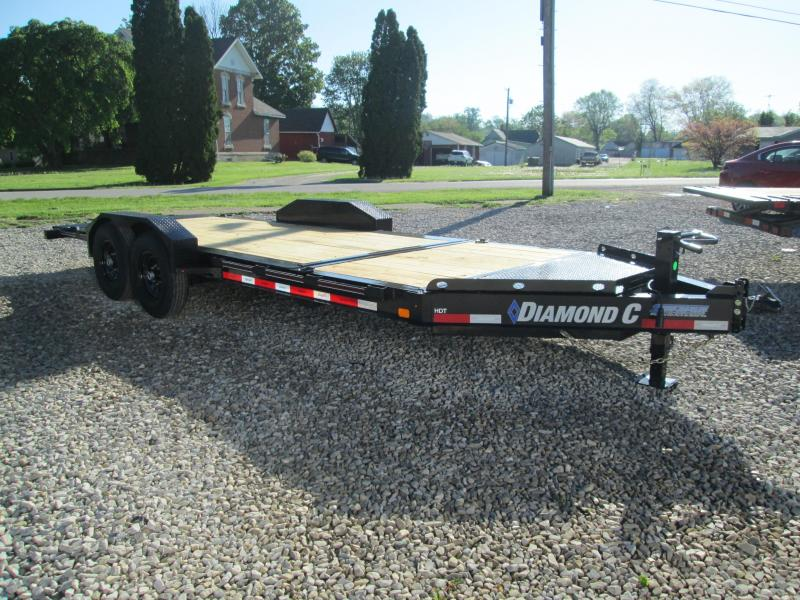"2021 16'+4'X82"" 14.9K Diamond C HDT Equipment Trailer. 46249"