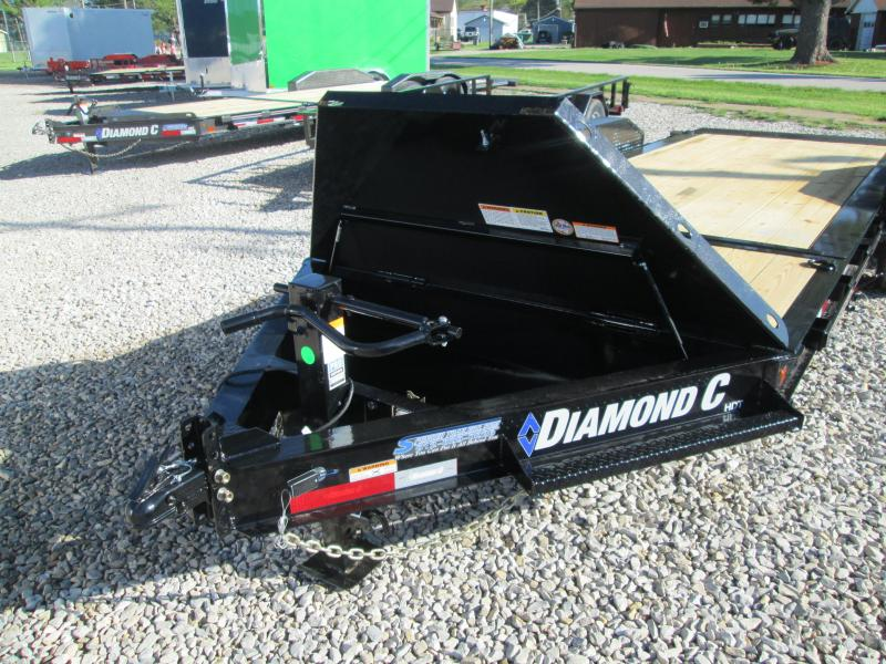 """2021 16'+4'X82"""" 14.9K Diamond C HDT Equipment Trailer. 46249"""