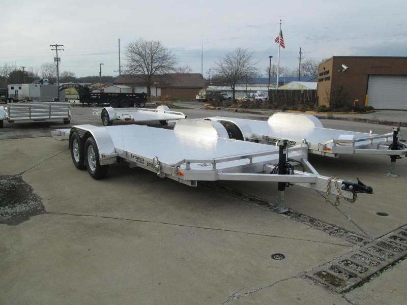 2021 Legend 20' Aluminum Tilt Car Hauler