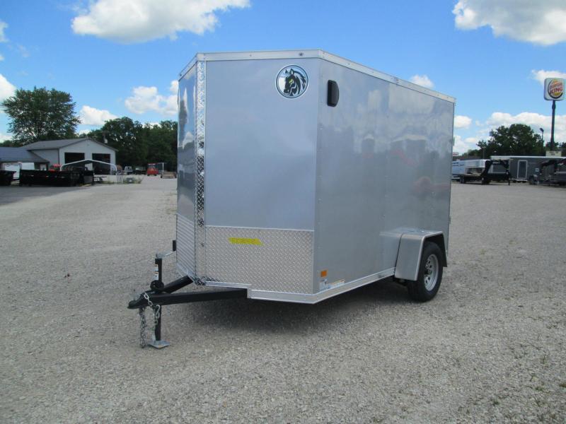 2020 6x10 Darkhorse Enclosed Cargo Trailer. 100848
