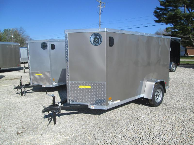 2021 5x10 Darkhorse Enclosed Cargo Trailer. 102597