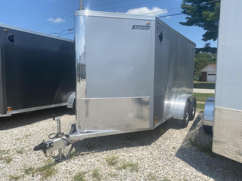 2021 12'+3' V-Nose x 7' 7K Legend FTV Enclosed Cargo Trailer