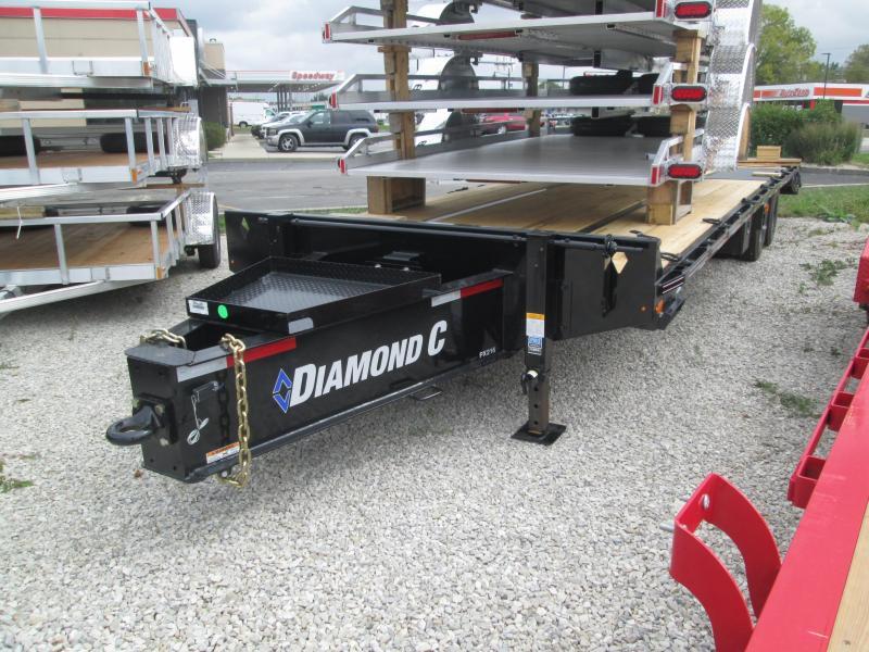 2022 25+5x102 30k Diamond C Pintle Hitch Equipment Trailer. 52264