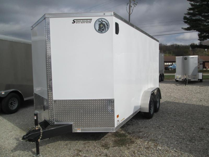 2021 Darkhorse Cargo DHW7x14TA35 Enclosed Cargo Trailer