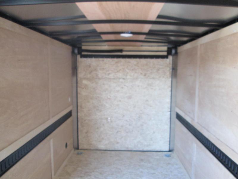 2021 6.5x12 Darkhorse Enclosed Cargo Trailer. 102536