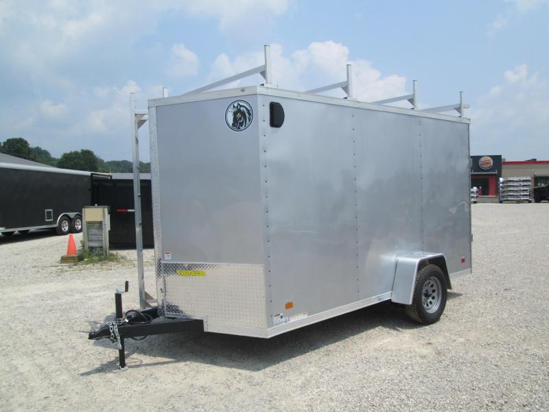 2022 6.5x12 Darkhorse Enclosed Cargo Trailer. 103639