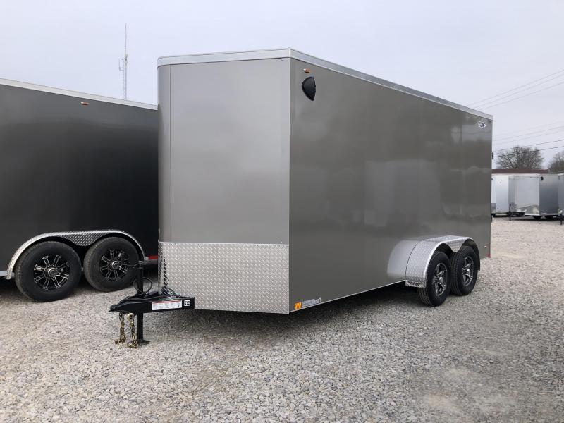 2020 7x16+V-Nose 7K Legend Cyclone Enclosed Trailer. 17619