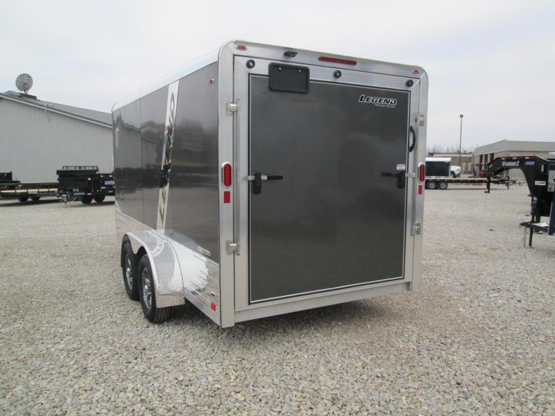 2021 7x14+3 7K Legend DVN Enclosed Cargo Trailer. 17159