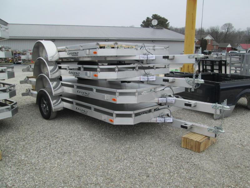 2021 7x12 Legend Tilt Utility Trailer. 17855