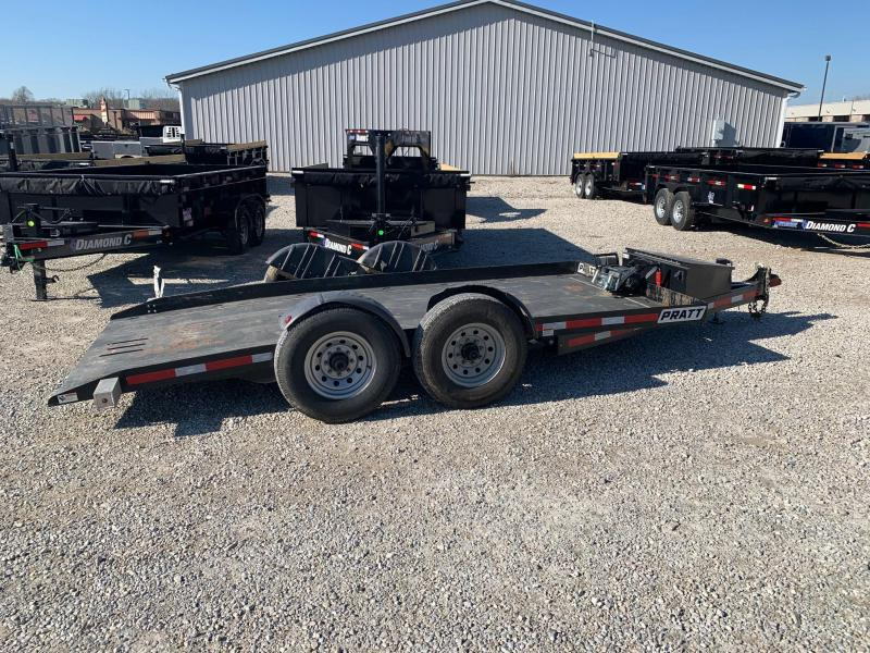 2018 PRATT  EZ-1480 Drop N Load Equipment Trailer