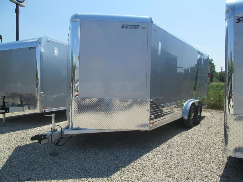 2021 8x18+V-Nose 8.5K Legend DVN Enclosed Cargo Trailer. 17792