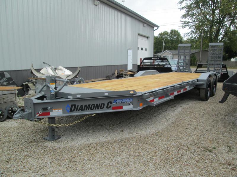 "2021 22'+2'x82"" 20K Diamond C LPX210 Equipment Trailer. 34688"