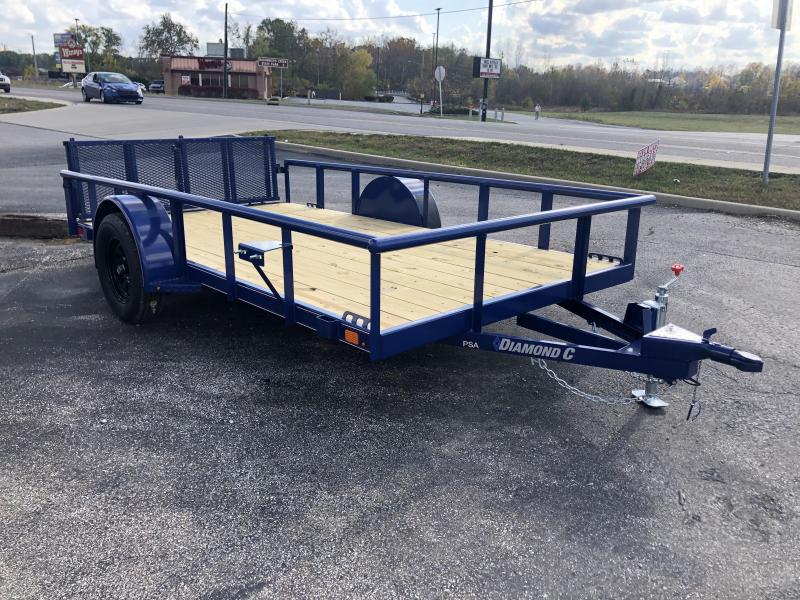 2021 12x77 Diamond C PSA135 Utility Trailer. 36082