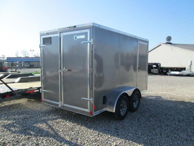 2021 6.5x12 7K Darkhorse Enclosed Cargo Trailer. 2527