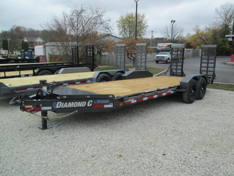 "2021 18'+2'x82"" 14.9K Diamond C LPX207 Equipment Trailer. 36228"