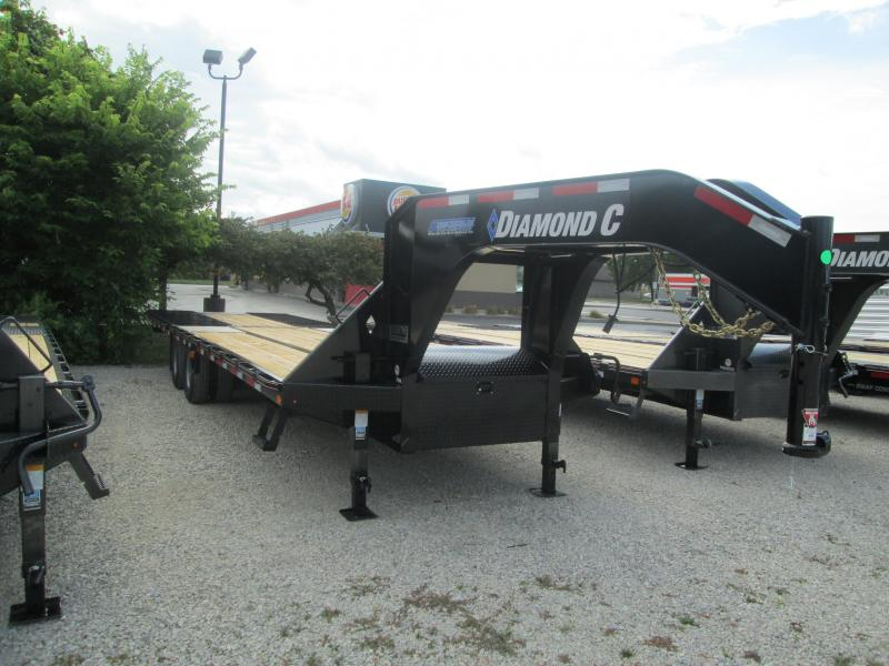 "2020 FMAX 210HDT 18'+12'x102"" 25K Diamond C Engineered Beam Equipment Trailer. 32756"