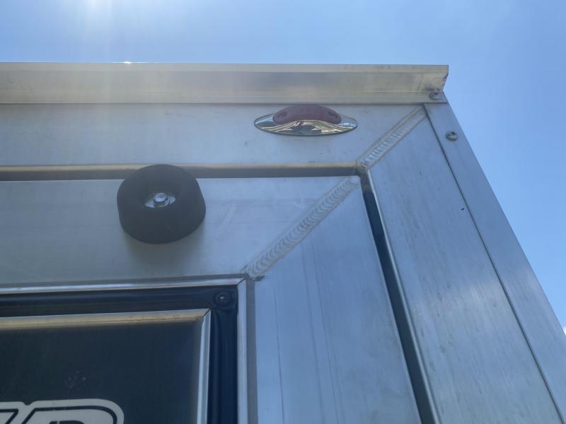 TIG-WELDED RAMP DOOR! 2020 LEGEND FTV 7x16 Plus V-nose Aluminum Trailer