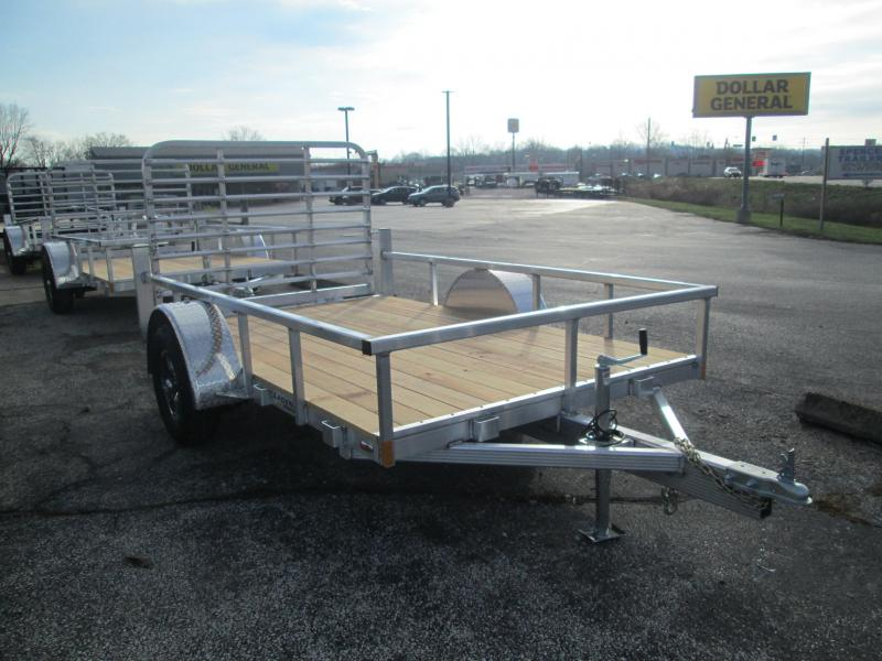 2021 LEGEND Open Deluxe Utility Trailer. 17622