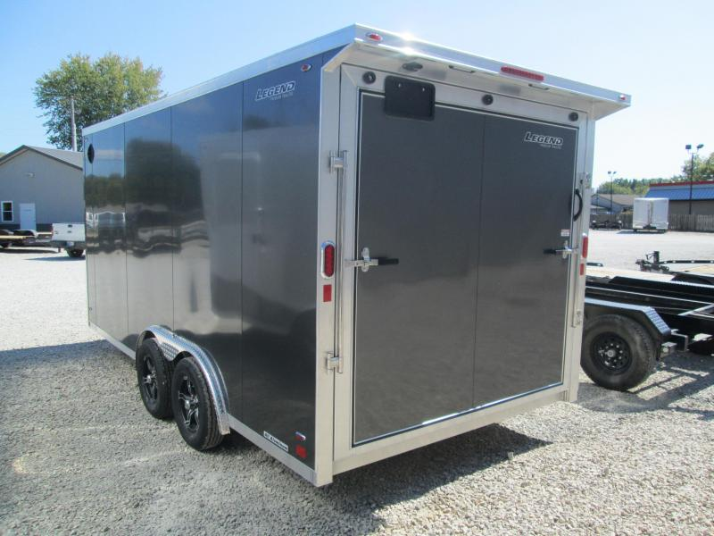 2021 16+V-Nosex8' 7K Legend FTV Enclosed Cargo Trailer. 17465