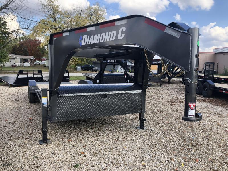 "2021 22'+2'x82"" 14.9K Diamond C LPX207 Equipment Trailer. 34262"