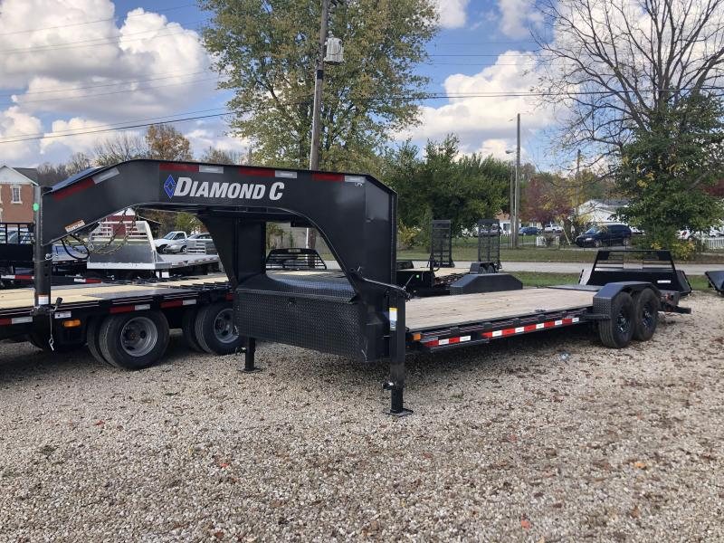 "2021 22'+2'x82"" 14.9K Diamond C LPX207 Equipment Trailer. 34262"