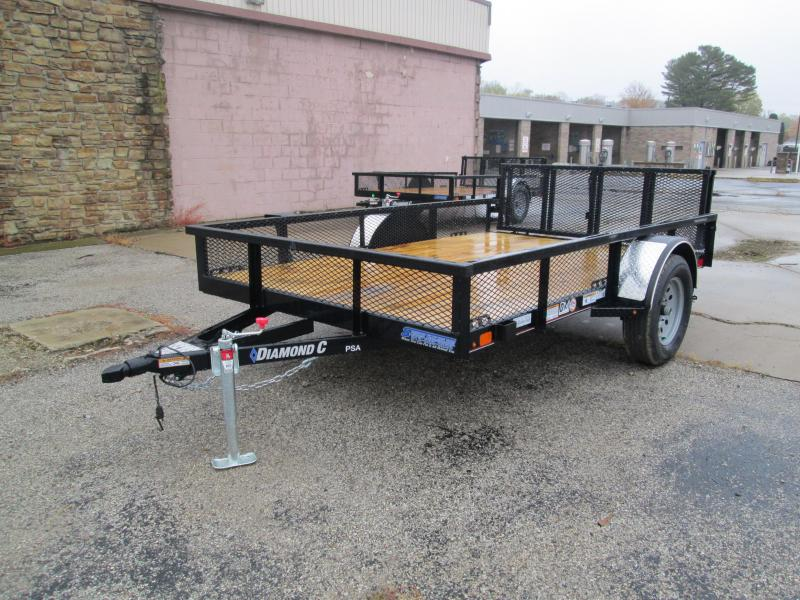2021 10x77 Diamond C PSA135 Utility Trailer. 35741