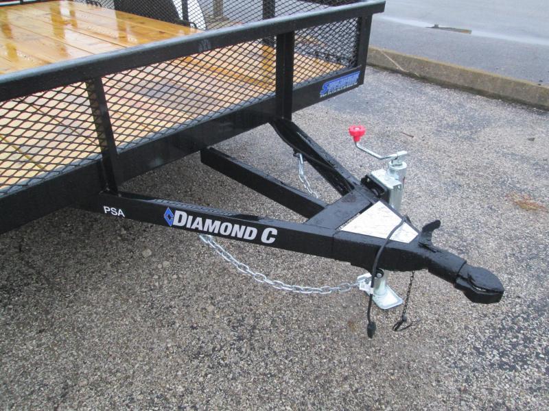 2021 10x77 Diamond C PSA135 Utility Trailer. 35741