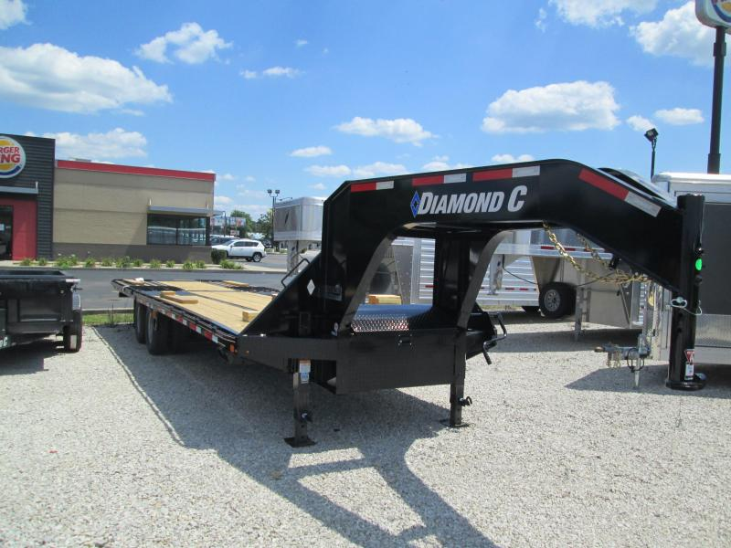 2020 30x102 25K Diamond C FMAX210 Equipment Trailer. 32496