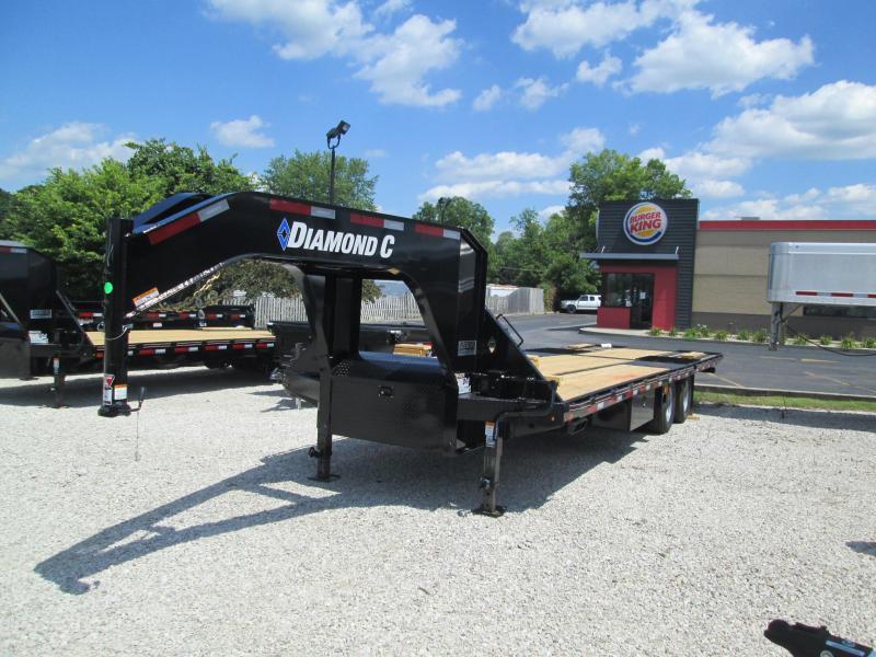 2020 30x102 25K Diamond C FMAX210 Equipment Trailer. 32496