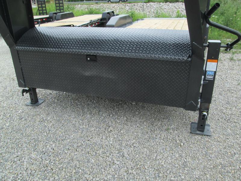 2021 16'+6' 14.9K Diamond C HDT Gooseneck Split Deck Tilt Equipment Trailer. 49323